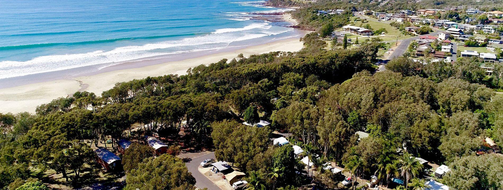 Ingenia Holidays Bonny Hills Aerial