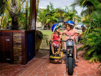 Ingenia Holidays Soldiers Point Kids On Bike
