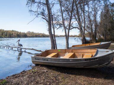 Ingenia Holidays Lake Conjola Boats