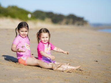 Ingenia Holidays Inverloch Kids At Beach