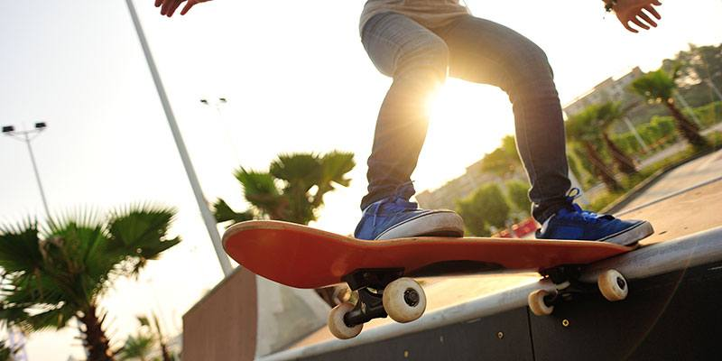 A visit to a skate park is an awesome way to entertain all ages