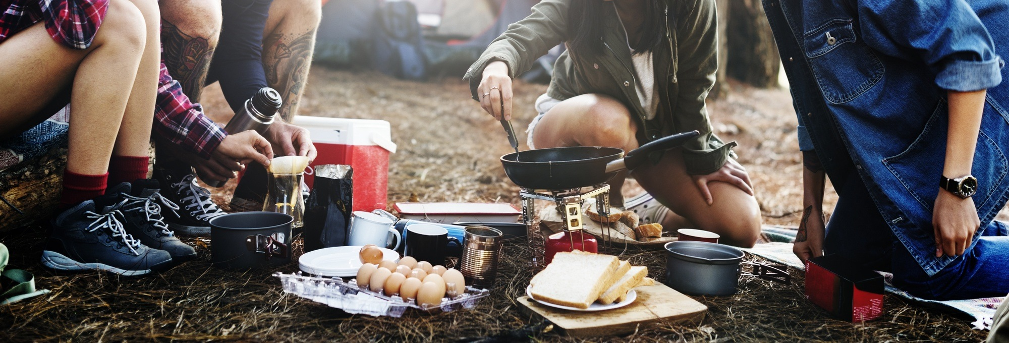 Clever cooking hacks for your next camping trip